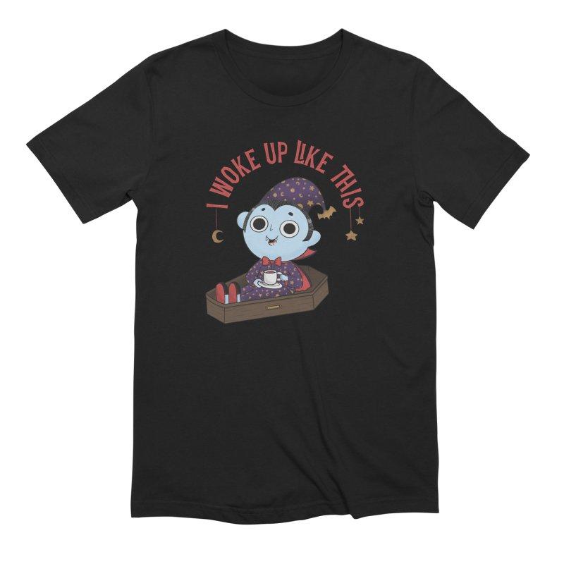 Woke up Men's Extra Soft T-Shirt by Pepe Rodríguez