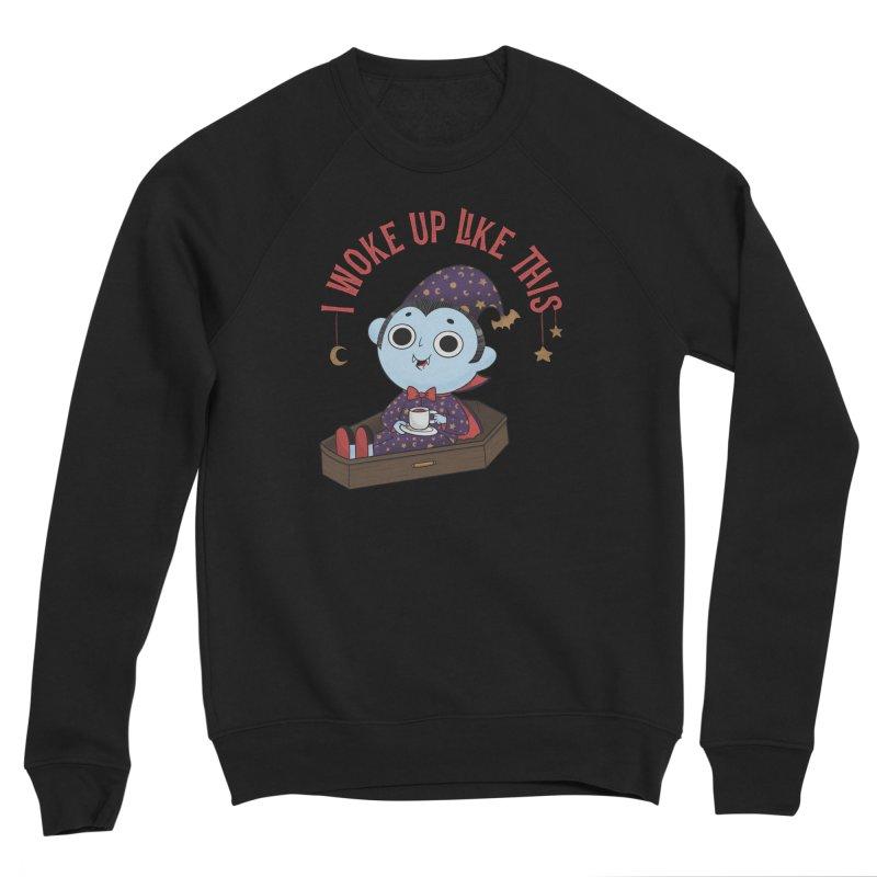 Woke up Men's Sponge Fleece Sweatshirt by Pepe Rodríguez