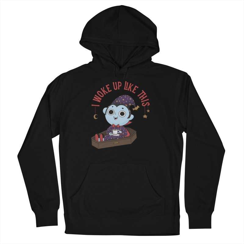 Woke up Women's French Terry Pullover Hoody by Pepe Rodríguez