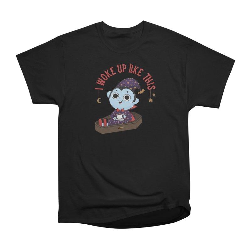 Woke up Women's Heavyweight Unisex T-Shirt by Pepe Rodríguez