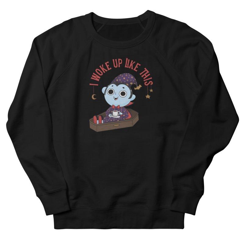 Woke up Women's French Terry Sweatshirt by Pepe Rodríguez