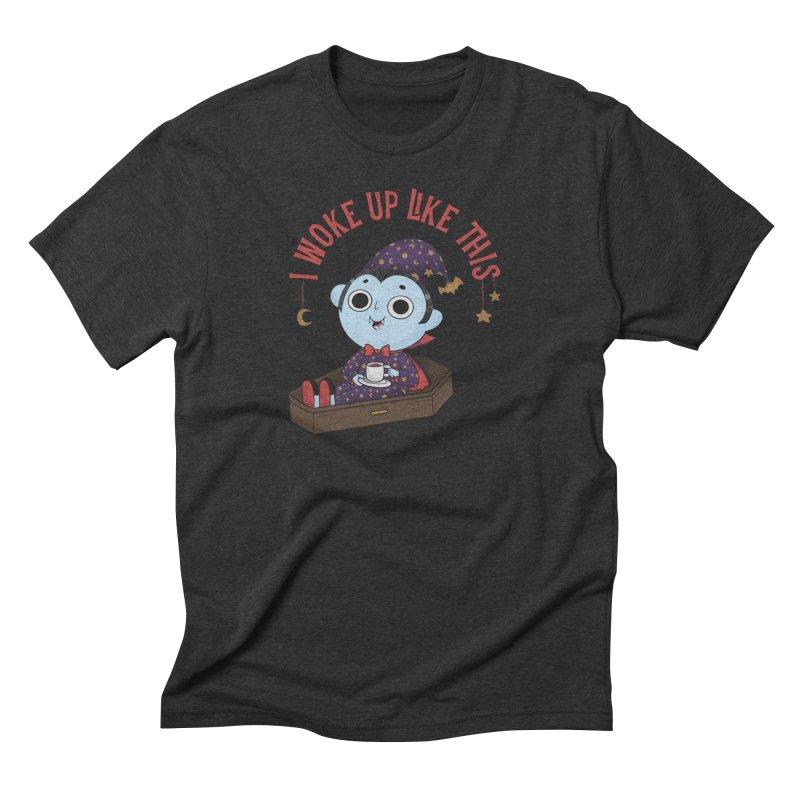 Woke up Men's Triblend T-Shirt by Pepe Rodríguez