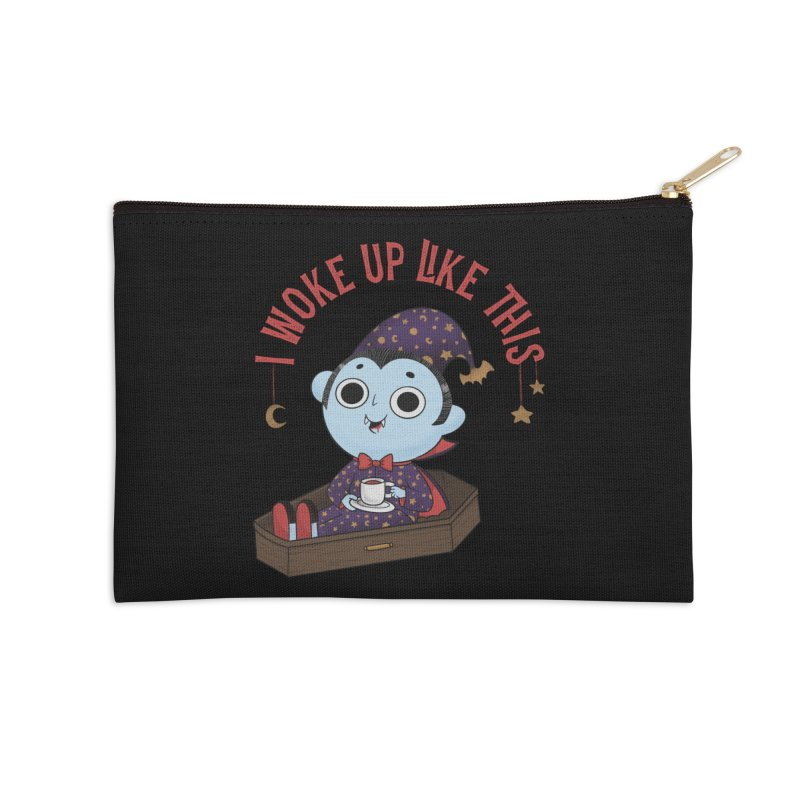 Woke up Accessories Zip Pouch by Pepe Rodríguez
