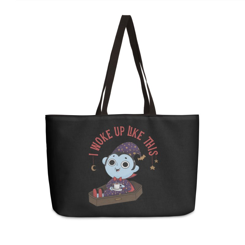 Woke up Accessories Weekender Bag Bag by Pepe Rodríguez