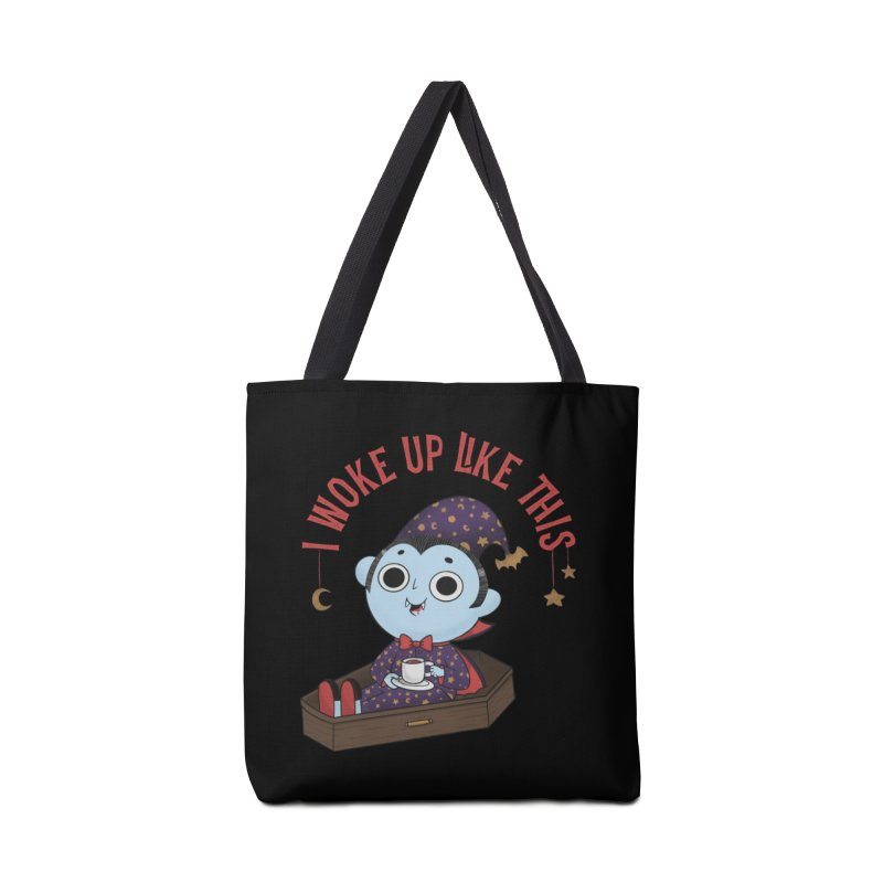 Woke up Accessories Tote Bag Bag by Pepe Rodríguez