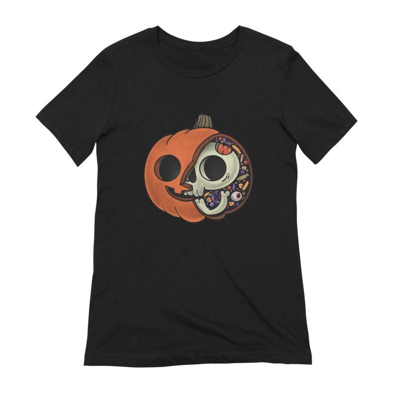 Halloween Anatomy Women's Extra Soft T-Shirt by Pepe Rodríguez