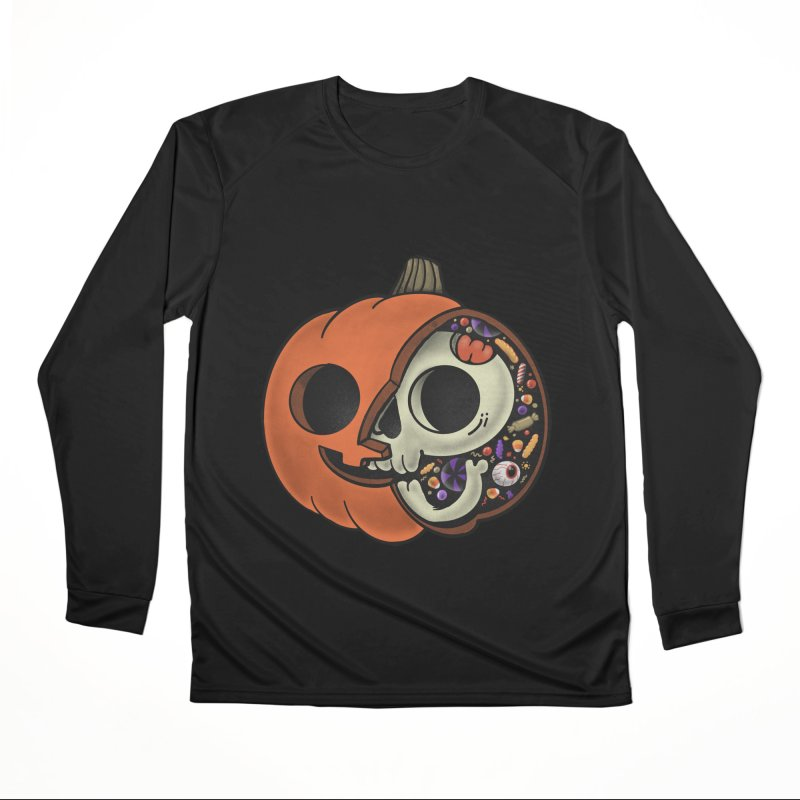Halloween Anatomy Women's Performance Unisex Longsleeve T-Shirt by Pepe Rodríguez