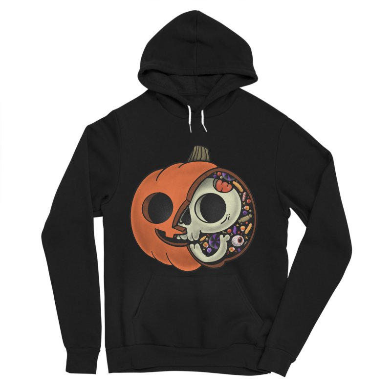 Halloween Anatomy Women's Sponge Fleece Pullover Hoody by Pepe Rodríguez
