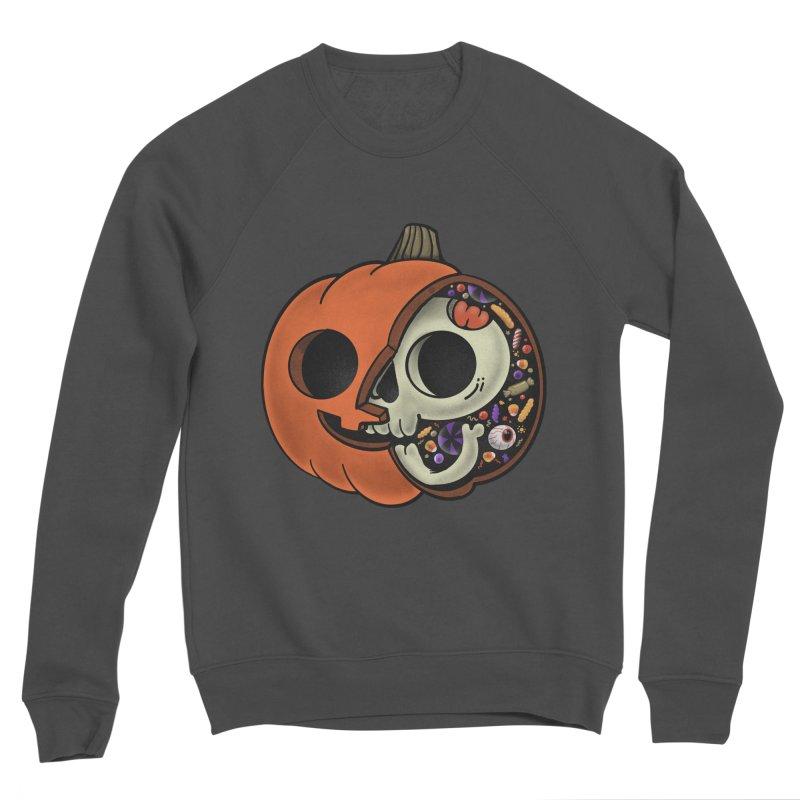 Halloween Anatomy Women's Sponge Fleece Sweatshirt by Pepe Rodríguez