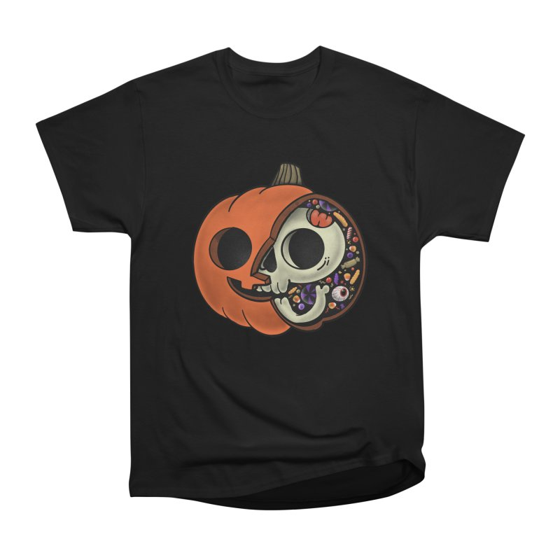 Halloween Anatomy Women's Heavyweight Unisex T-Shirt by Pepe Rodríguez