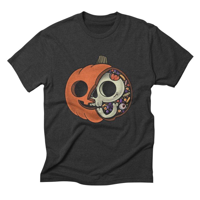 Halloween Anatomy Men's Triblend T-Shirt by Pepe Rodríguez