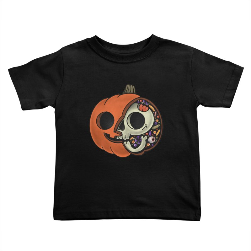Halloween Anatomy Kids Toddler T-Shirt by Pepe Rodríguez