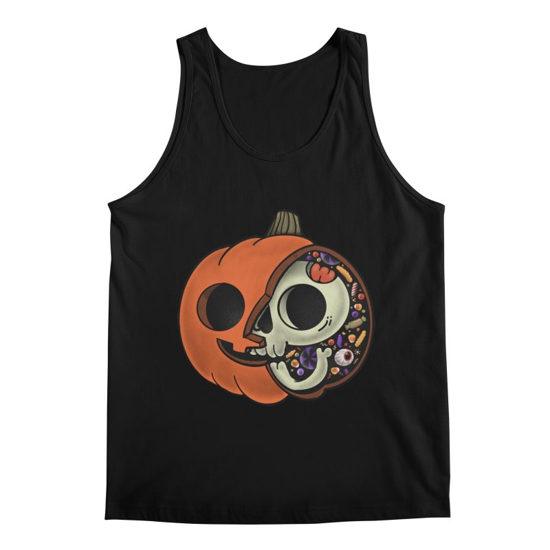 Halloween Anatomy Men's Regular Tank by Pepe Rodríguez