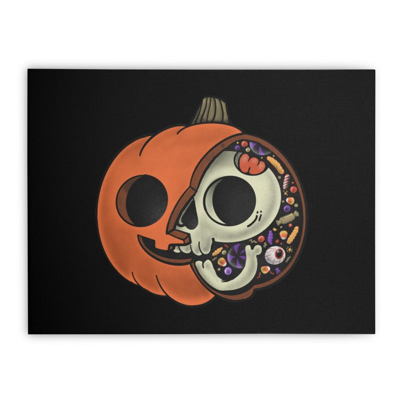 Halloween Anatomy Home Stretched Canvas by Pepe Rodríguez