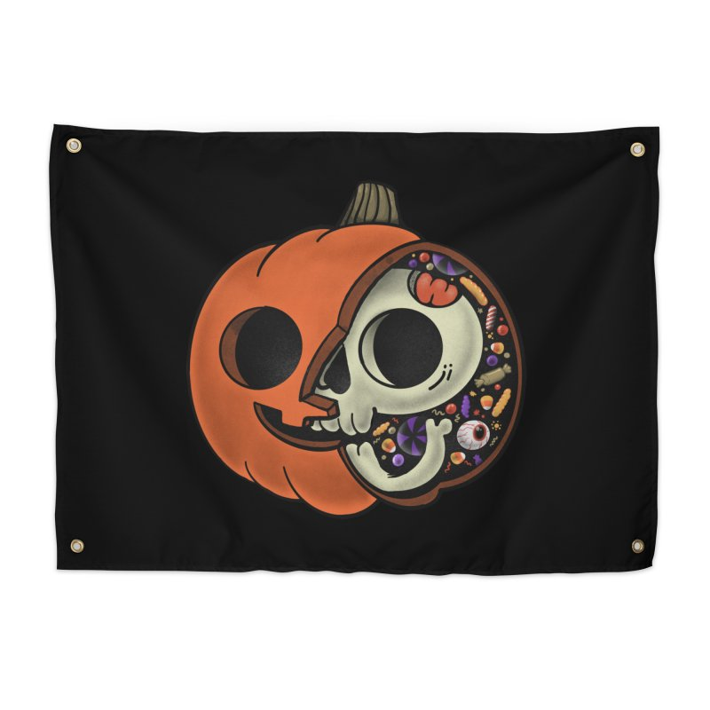 Halloween Anatomy Home Tapestry by Pepe Rodríguez
