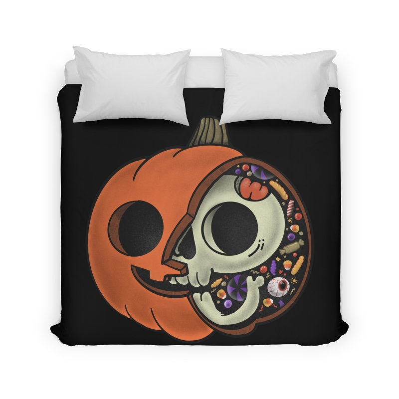 Halloween Anatomy Home Duvet by Pepe Rodríguez