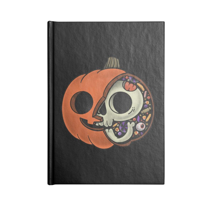 Halloween Anatomy Accessories Lined Journal Notebook by Pepe Rodríguez