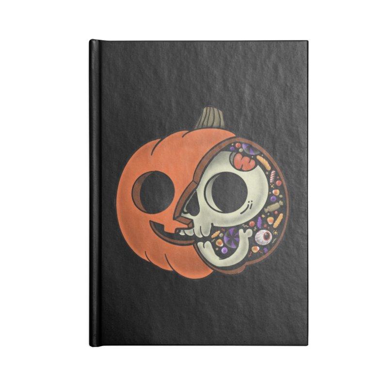 Halloween Anatomy Accessories Blank Journal Notebook by Pepe Rodríguez