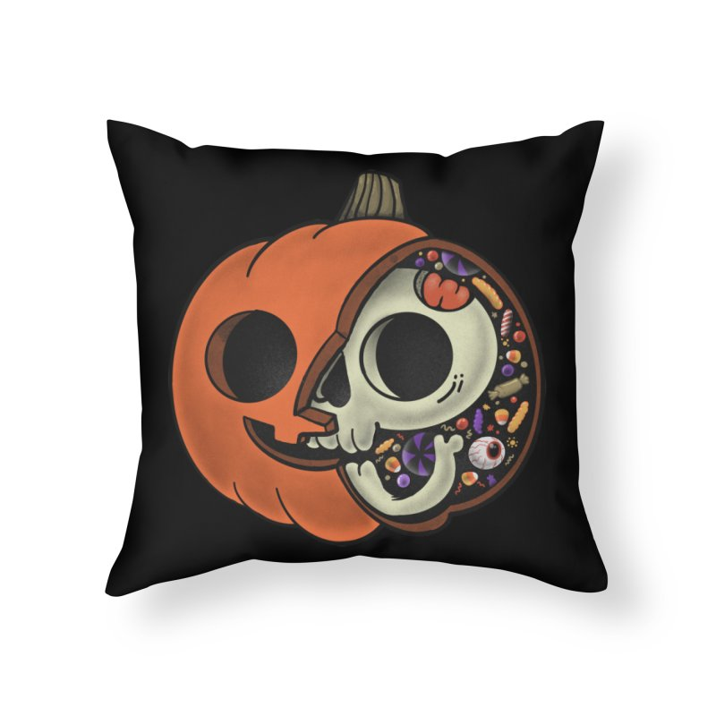 Halloween Anatomy Home Throw Pillow by Pepe Rodríguez