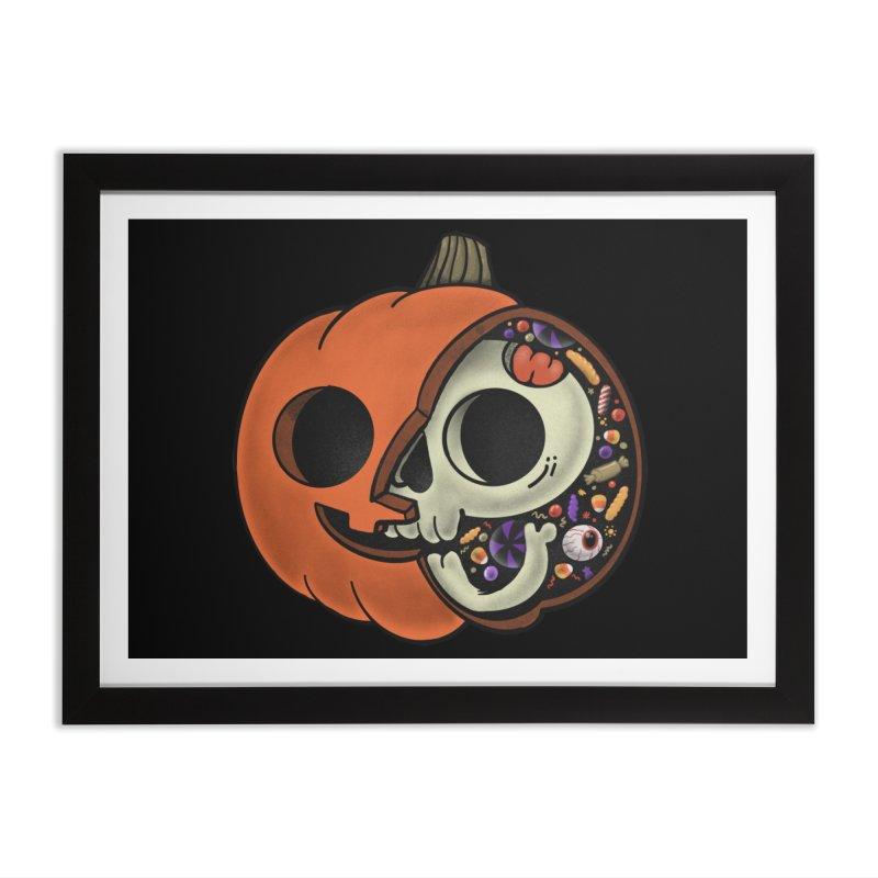 Halloween Anatomy Home Framed Fine Art Print by Pepe Rodríguez