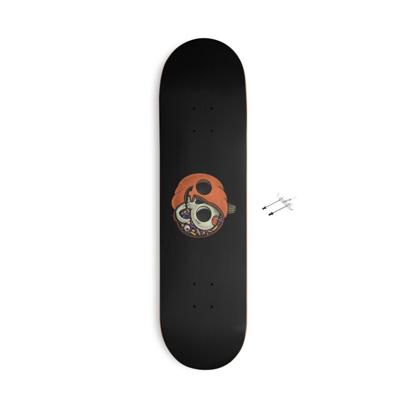 Halloween Anatomy Accessories With Hanging Hardware Skateboard by Pepe Rodríguez