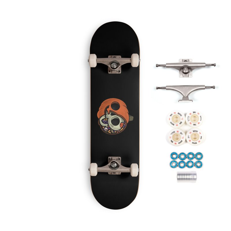 Halloween Anatomy Accessories Complete - Premium Skateboard by Pepe Rodríguez