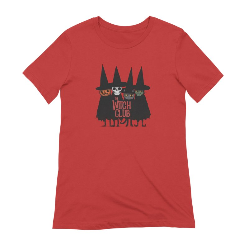 Witch Club Women's Extra Soft T-Shirt by Pepe Rodríguez
