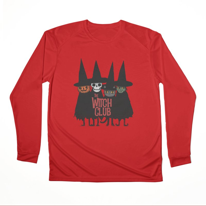 Witch Club Men's Performance Longsleeve T-Shirt by Pepe Rodríguez