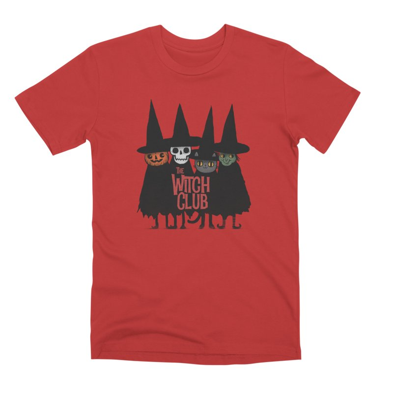Witch Club Men's T-Shirt by Pepe Rodríguez