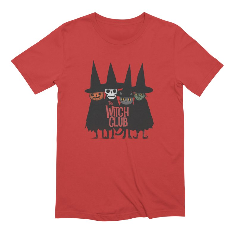 Witch Club Men's Extra Soft T-Shirt by Pepe Rodríguez
