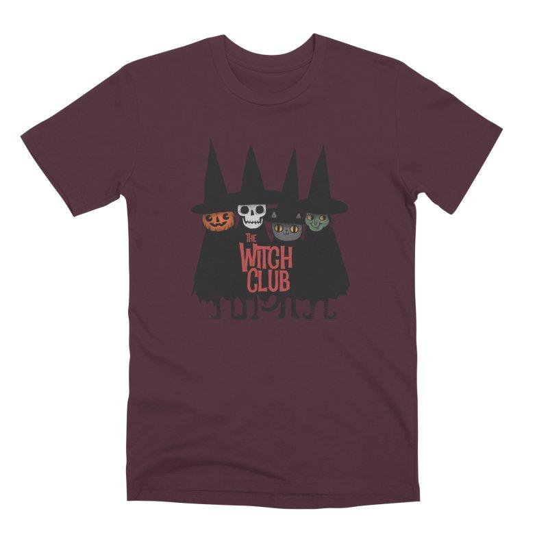 Witch Club Men's Premium T-Shirt by Pepe Rodríguez