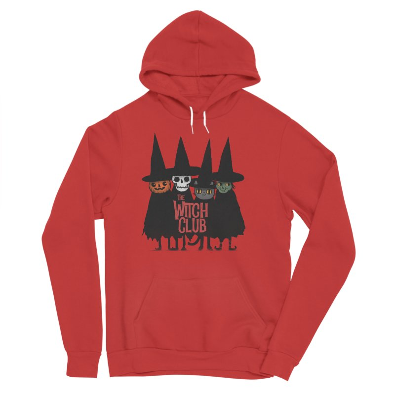 Witch Club Women's Sponge Fleece Pullover Hoody by Pepe Rodríguez