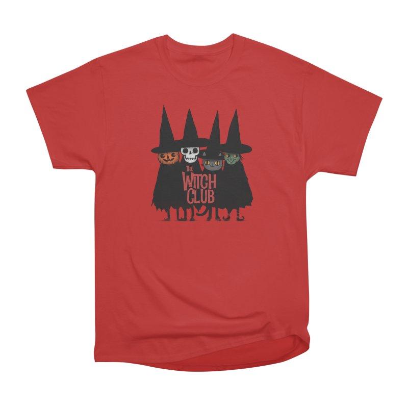 Witch Club Women's Heavyweight Unisex T-Shirt by Pepe Rodríguez