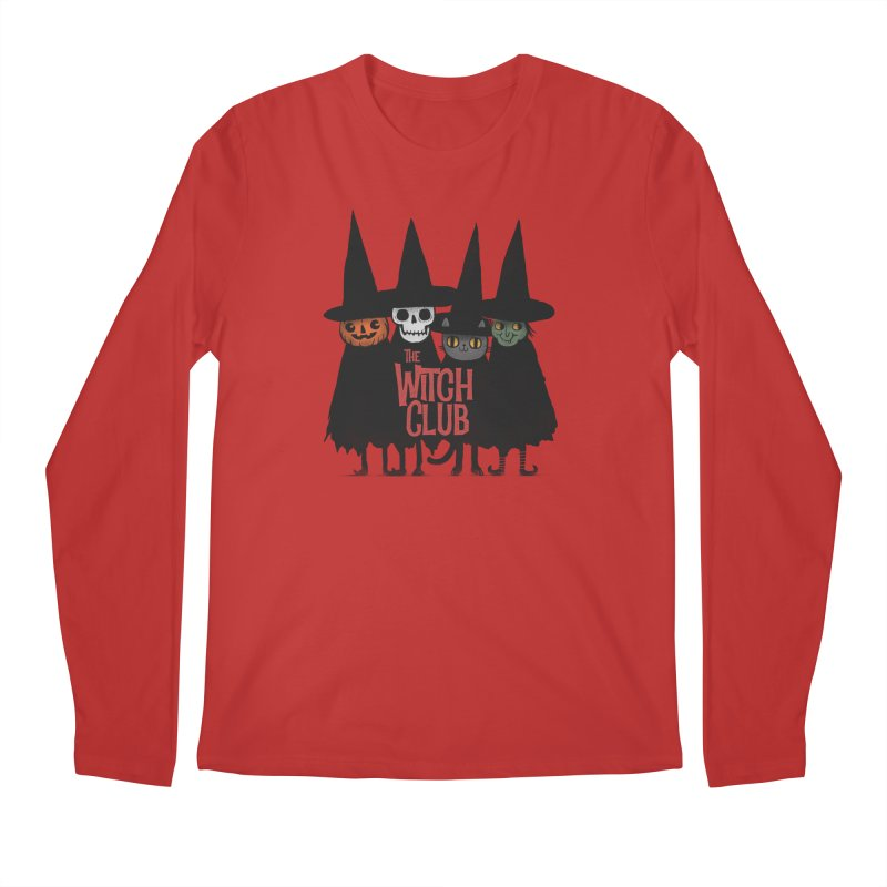 Witch Club Men's Regular Longsleeve T-Shirt by Pepe Rodríguez