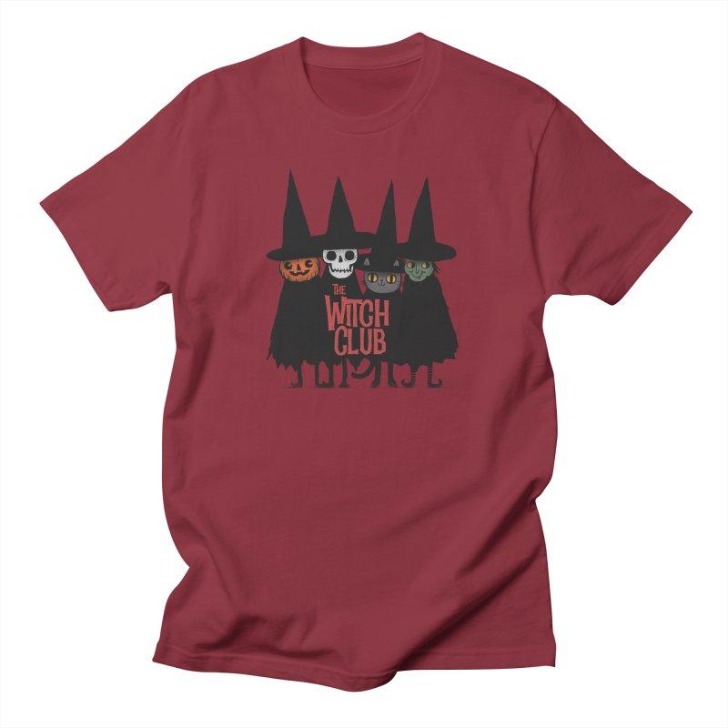 Witch Club Men's Regular T-Shirt by Pepe Rodríguez