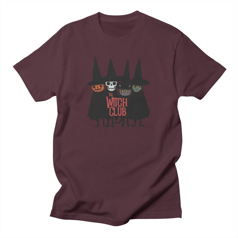 Witch Club Women's Regular Unisex T-Shirt by Pepe Rodríguez