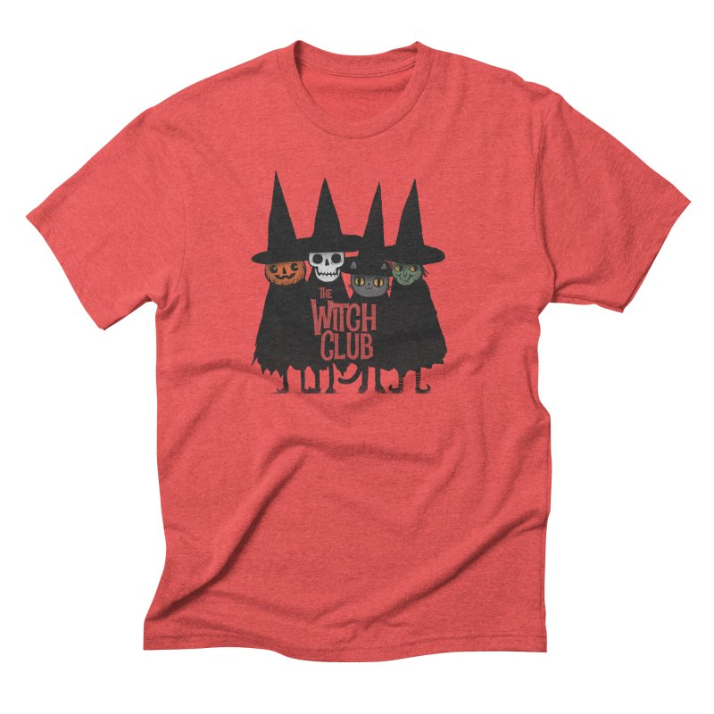 Witch Club Men's Triblend T-Shirt by Pepe Rodríguez