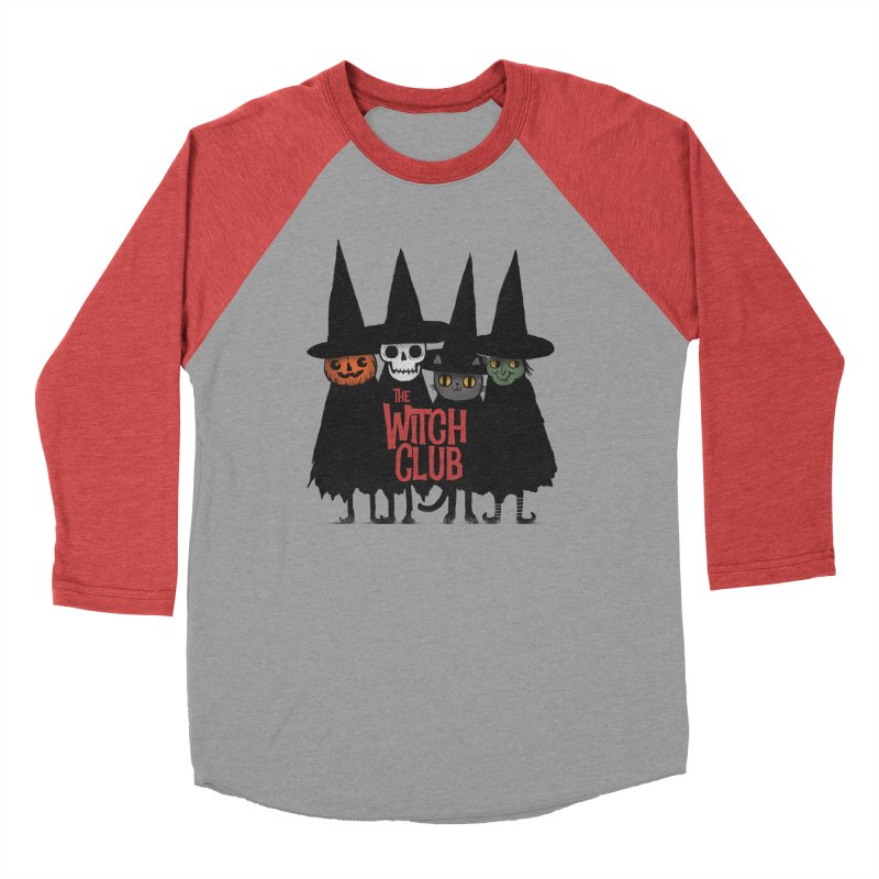 Witch Club Women's Baseball Triblend Longsleeve T-Shirt by Pepe Rodríguez