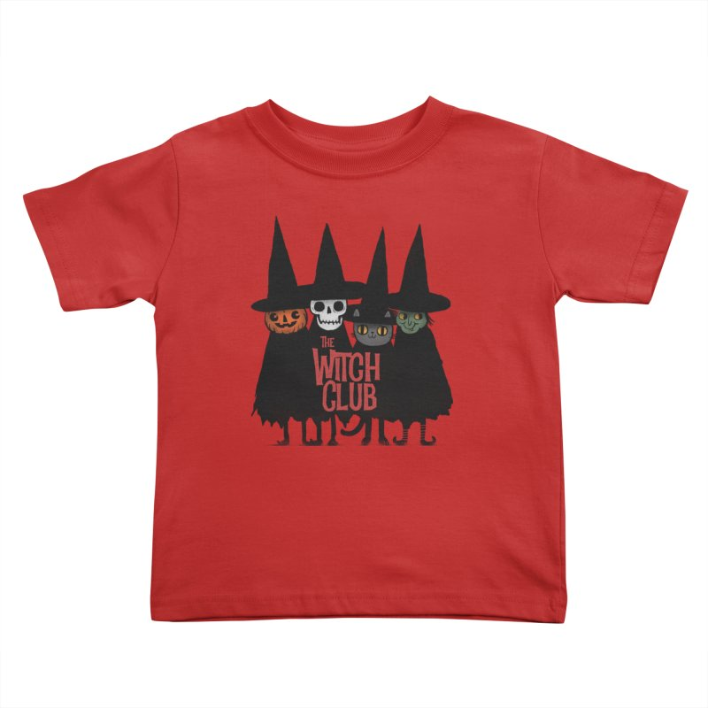 Witch Club Kids Toddler T-Shirt by Pepe Rodríguez