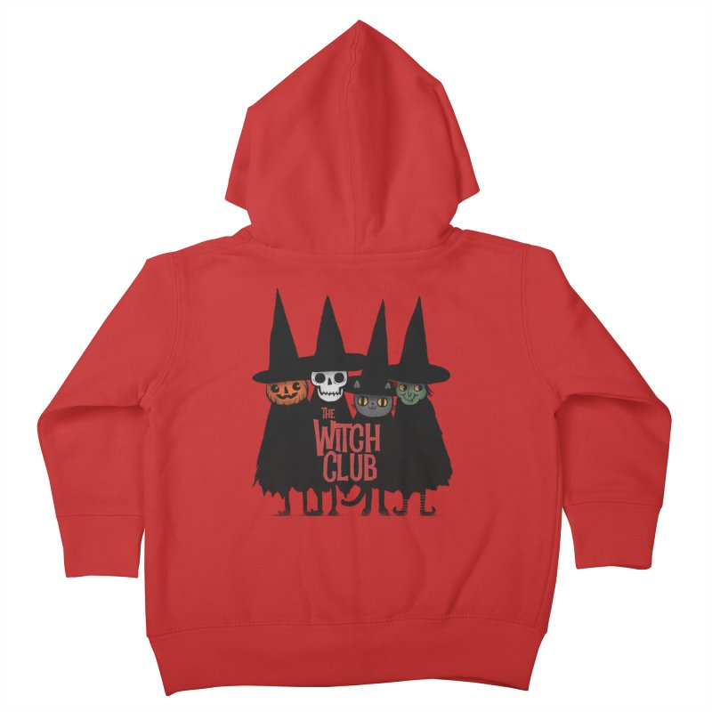 Witch Club Kids Toddler Zip-Up Hoody by Pepe Rodríguez