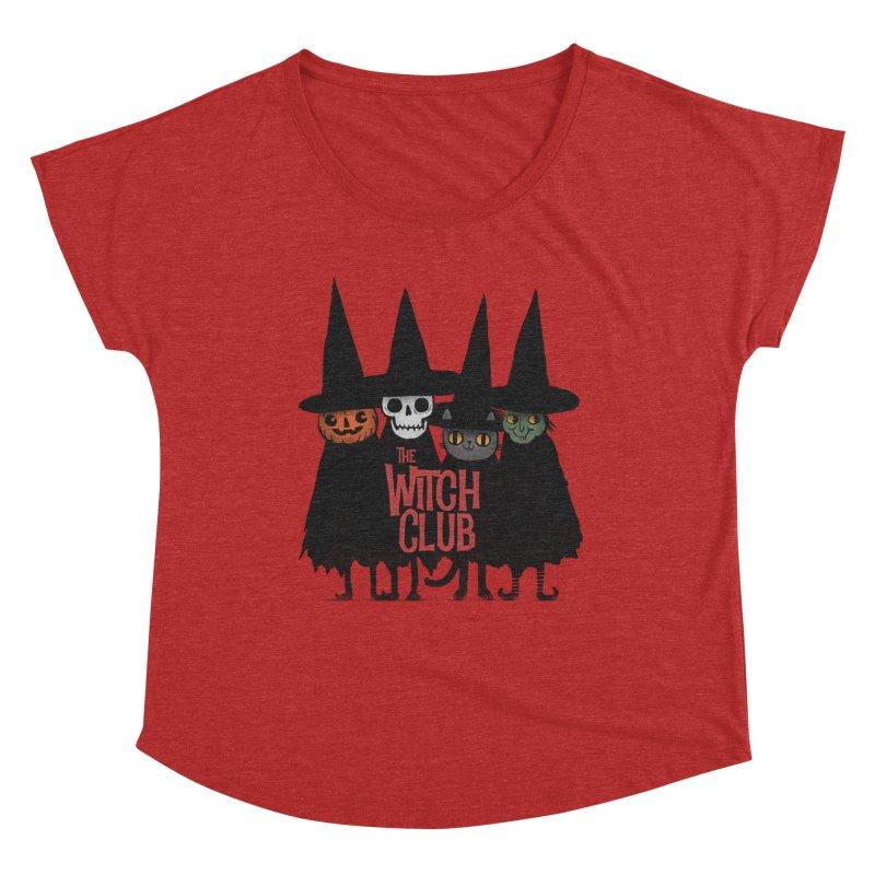 Witch Club Women's Dolman Scoop Neck by Pepe Rodríguez