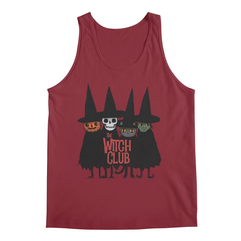 Witch Club Men's Regular Tank by Pepe Rodríguez
