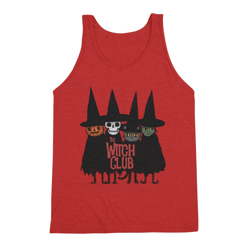 Witch Club Men's Triblend Tank by Pepe Rodríguez
