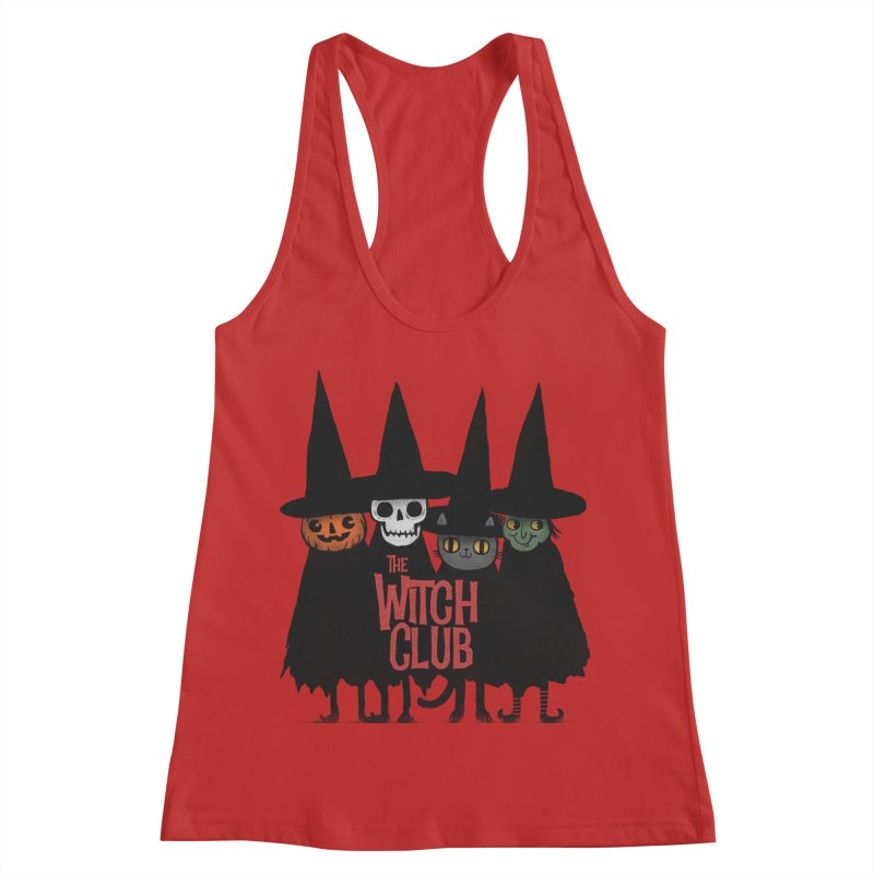 Witch Club Women's Racerback Tank by Pepe Rodríguez