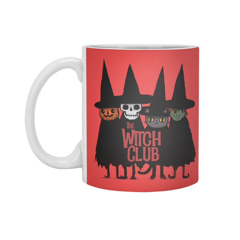 Witch Club Accessories Standard Mug by Pepe Rodríguez