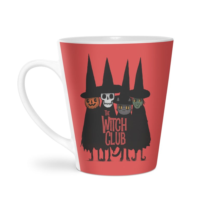 Witch Club Accessories Latte Mug by Pepe Rodríguez