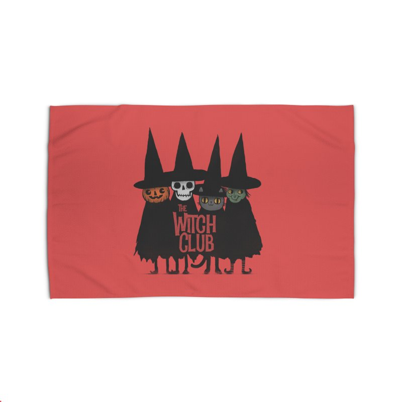 Witch Club Home Rug by Pepe Rodríguez