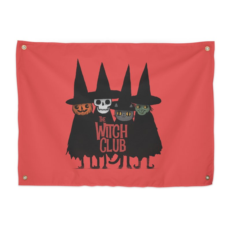 Witch Club Home Tapestry by Pepe Rodríguez