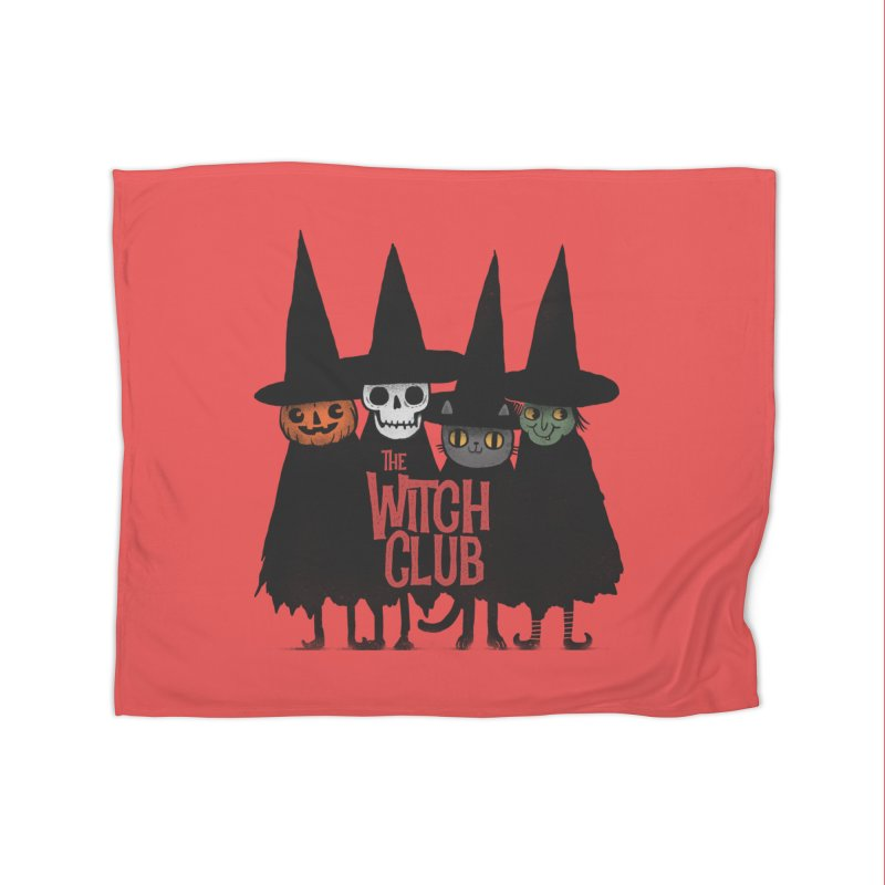 Witch Club Home Fleece Blanket Blanket by Pepe Rodríguez