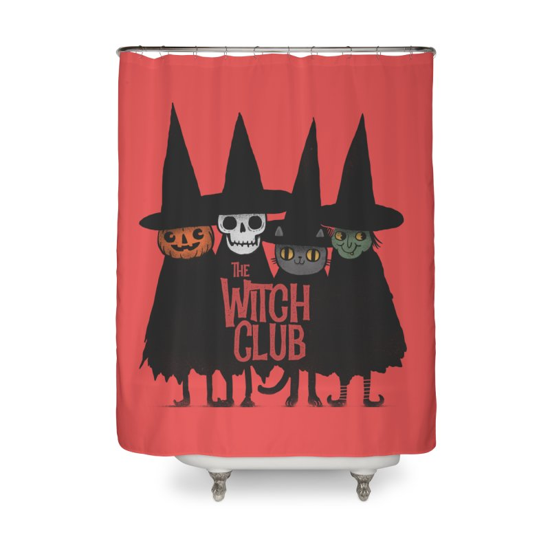 Witch Club Home Shower Curtain by Pepe Rodríguez
